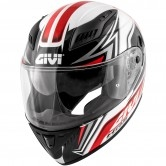 GIVI 40.5 X-Fiber GP White / Red / Black