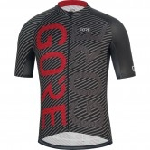 GORE C3 Brand Black / Red