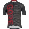 GORE C3 Brand Black / Red Jersey