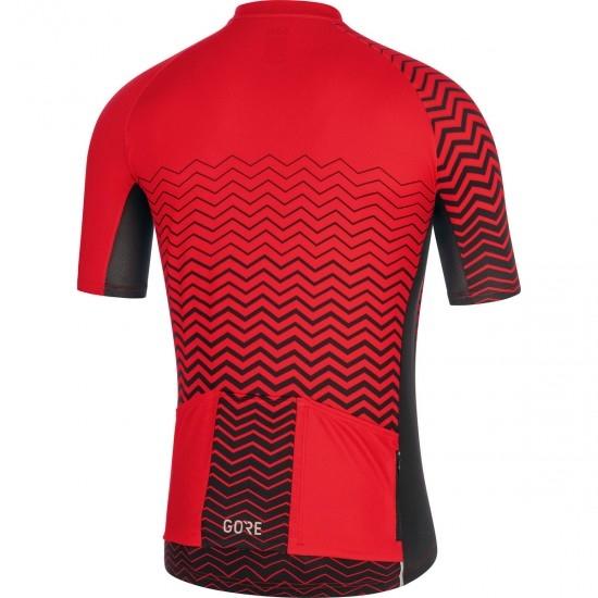 Maillot GORE C3 C Red / Black