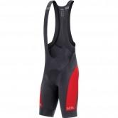 C5 Bib Shorts + Black / Red