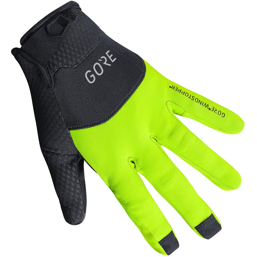 null GORE C5 Gore-Tex Infinium Black / Neon Yellow