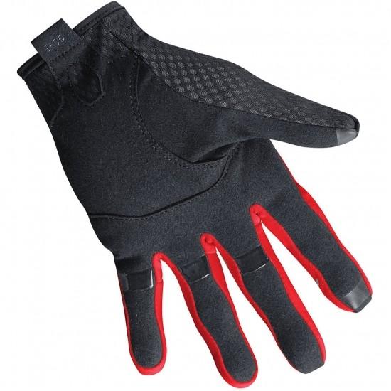 Luvas GORE C5 Gore-Tex Infinium Black / Red