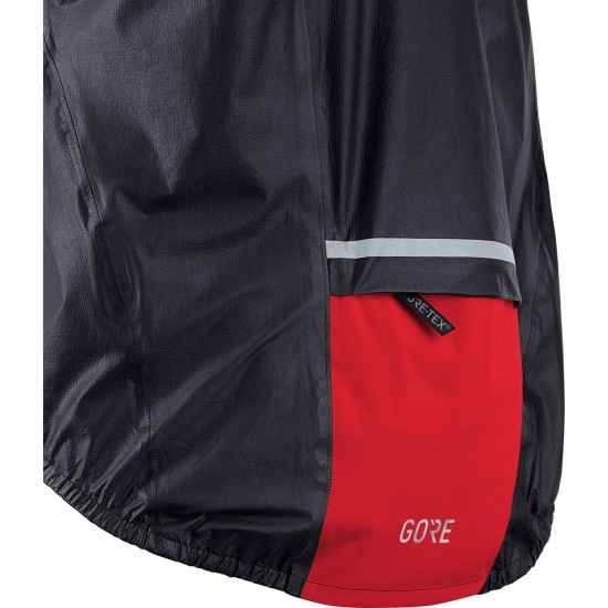 GORE C5 Gore-Tex Shakedry 1985 Viz Black / Red Jacket