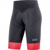 GORE C5 Lady Short Tights + Black / Hibiscus Pink
