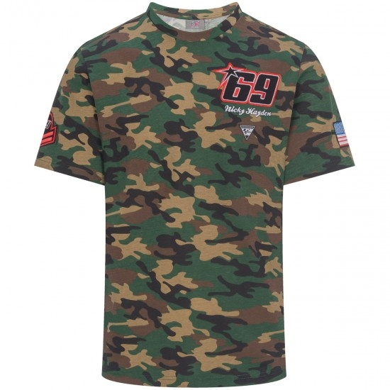 Camiseta GP APPAREL Nicky Hayden 69 1934003
