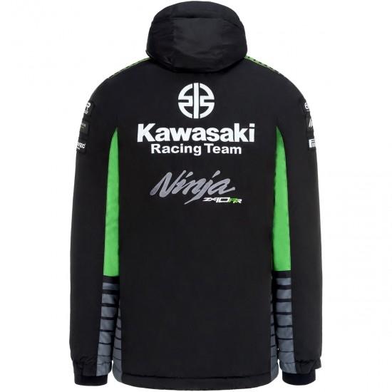 Jacke KAWASAKI Replica KRT SBK 2019 Black / Green