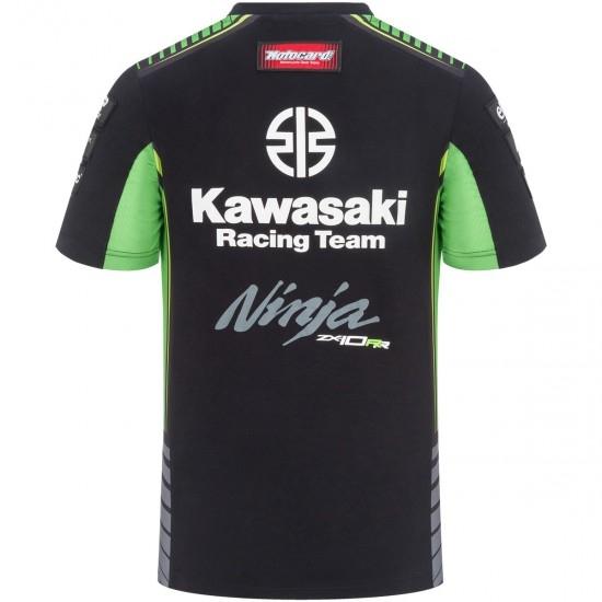 Jersey KAWASAKI Replica KRT SBK 2019 Black / Green