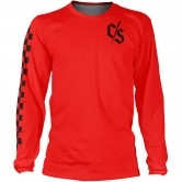 LOOSE RIDERS C/S Series L/S Check Red
