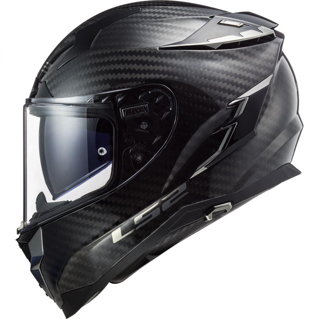 273addfc LS2 FF327 Challenger Carbon Helmet · Motocard