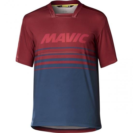MAVIC Deemax Pro Red Dahlia / Poseidon Jersey