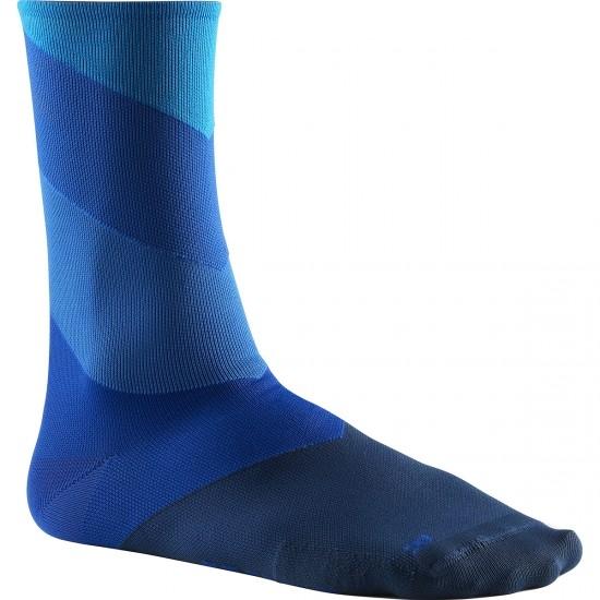 Calcetines MAVIC Graphic Stripes Hawaiian Ocean / Lapis Blue