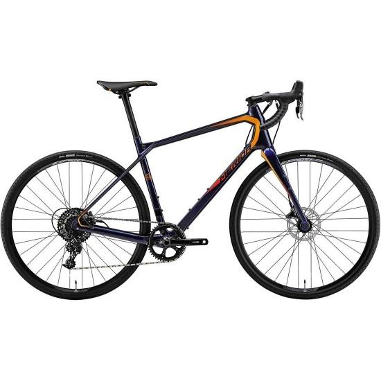 Bici da strada MERIDA TEST2 Silex 6000 2018 Blue / Orange / Red