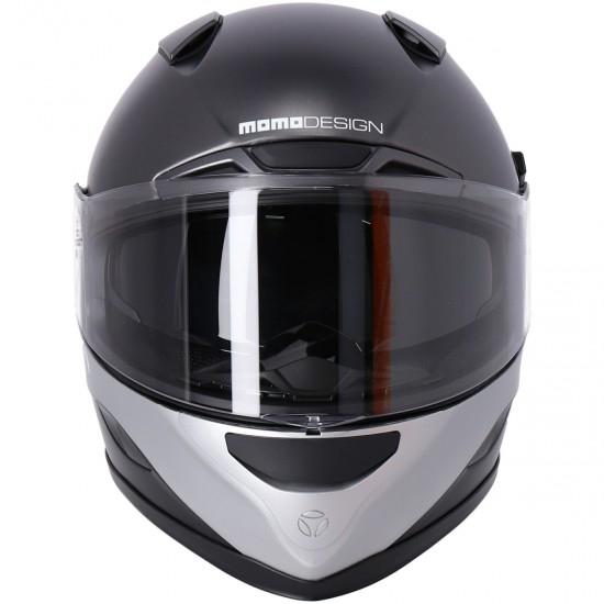 MOMO Hornet Titanium Matt Helmet