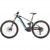 MONDRAKER e-Level RR Kiox 2019 Black / Sky Blue / Flame Red