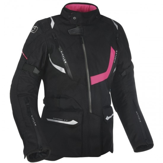 OXFORD Montreal 3.0 Lady Tech Black Jacket