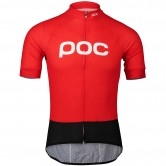 POC Essential Road Logo Prismane Red
