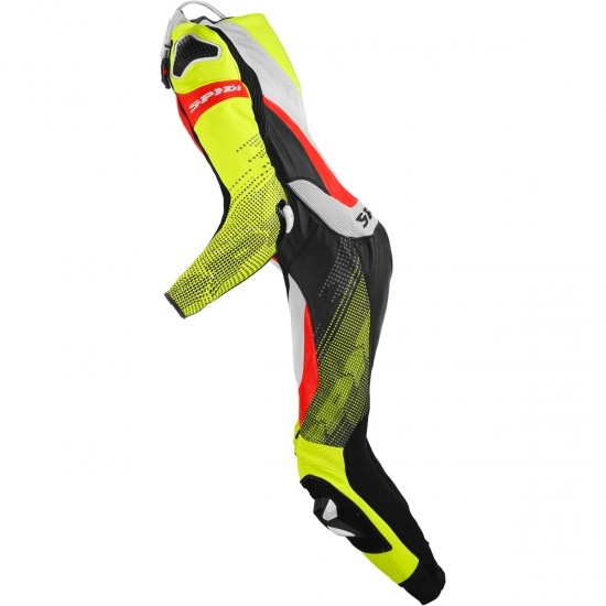 Anzug / Kombi SPIDI Supersonic Perforated Pro Professional Black / Yellow Fluo