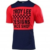 TROY LEE DESIGNS Skyline Checkers Navy / Red