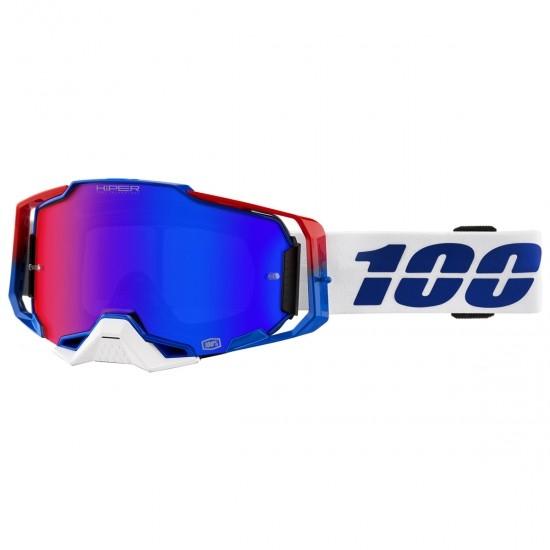 Gafas 100% Armega Genesis HiPER Mirror Blue / Red