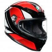 K6 Hyphen Black / Red / White