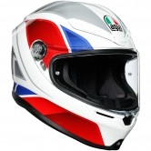 AGV K6 Hyphen White / Red / Blue