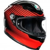 AGV K6 Rush Black / Red