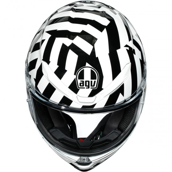 Casco AGV K6 Secret Black / White