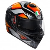 K-3 SV Pinlock Maxvision Liquefy Black / Orange