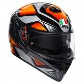 AGV K-3 SV Pinlock Maxvision Liquefy Black / Orange