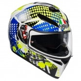 K-3 SV Pinlock Maxvision Pop White / Blue / Lime