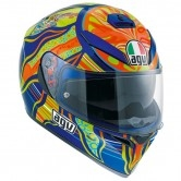 AGV K-3 SV Pinlock Maxvision Rossi 5 Continents