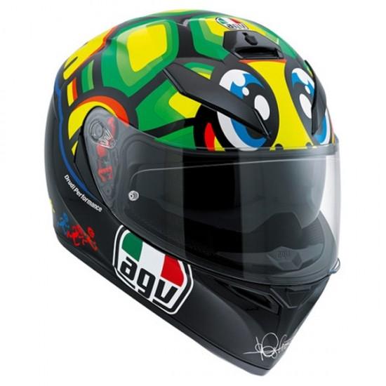 Helm AGV K-3 SV Pinlock Maxvision Rossi Tartaruga