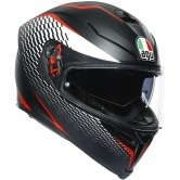 AGV K-5 S Pinlock Maxvision Thunder Matt Black / White / Red