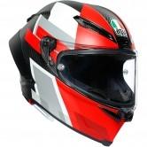 Pista GP RR Competizione Carbon / White / Red