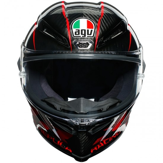 Casco AGV Pista GP RR Performance Carbon / Red