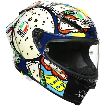 Casque AGV Pista GP RR Rossi Misano Menu 2019 Limited Edition