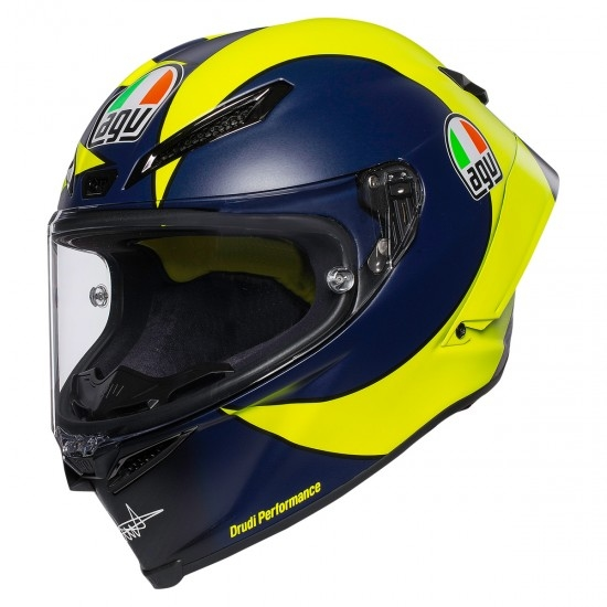 Casco AGV Pista GP RR Rossi Soleluna 2019