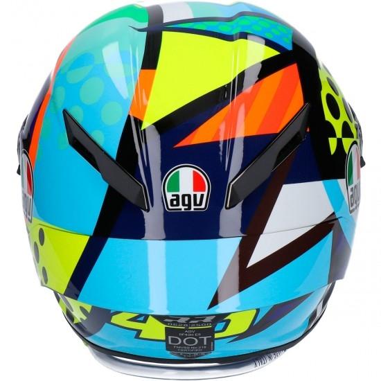 Casco AGV Pista GP RR Rossi Soleluna Winter Test 2020 Limited Edition