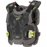 ALPINESTARS A-1 Plus Black / Anthracite / Yellow Fluo