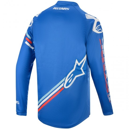 Jersey ALPINESTARS Racer 2020 Braap Blue / Off White