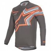 ALPINESTARS Racer 2020 Braap Dark Gray / Orange Fluo