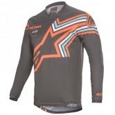 Racer 2020 Braap Dark Gray / Orange Fluo