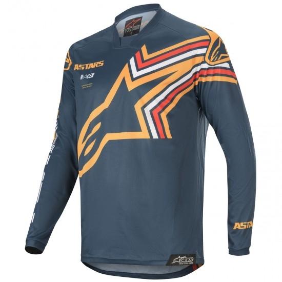 Jersey ALPINESTARS Racer 2020 Braap Navy / Orange