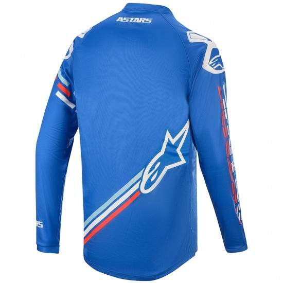 Jersey ALPINESTARS Racer 2020 Junior Braap Blue / Off White
