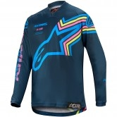 ALPINESTARS Racer 2020 Junior Braap Navy / Aqua / Pink Fluo