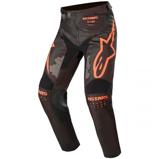 ALPINESTARS Racer 2020 Tactical Black / Gray Camo / Orange Fluo Pant