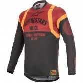 ALPINESTARS Racer Tech 2020 Flagship Black / Bordeaux / Orange