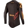 Maglietta ALPINESTARS Supertech 2020 Black / Orange / Red Fluo