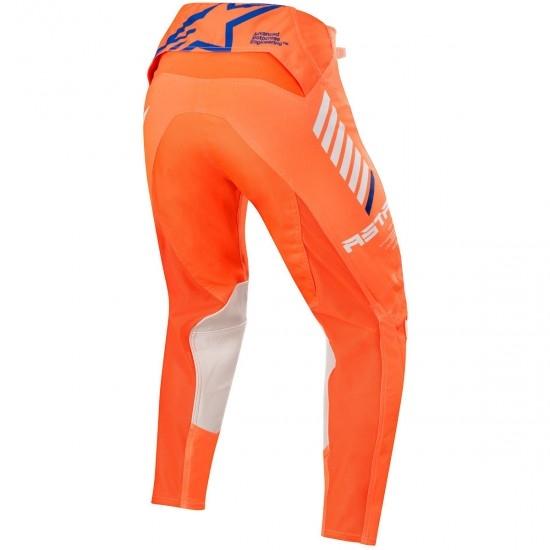 Calças ALPINESTARS Supertech 2020 Orange Fluo / White / Blue